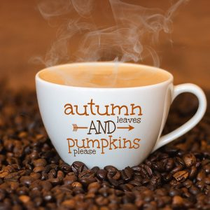 Autumn leaves and pumpkins please print and svg