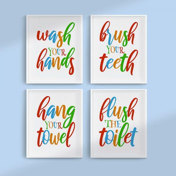 Bathroom Print Bundle