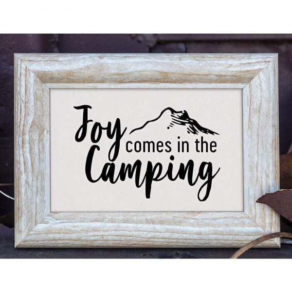 Joy in Camping Printable