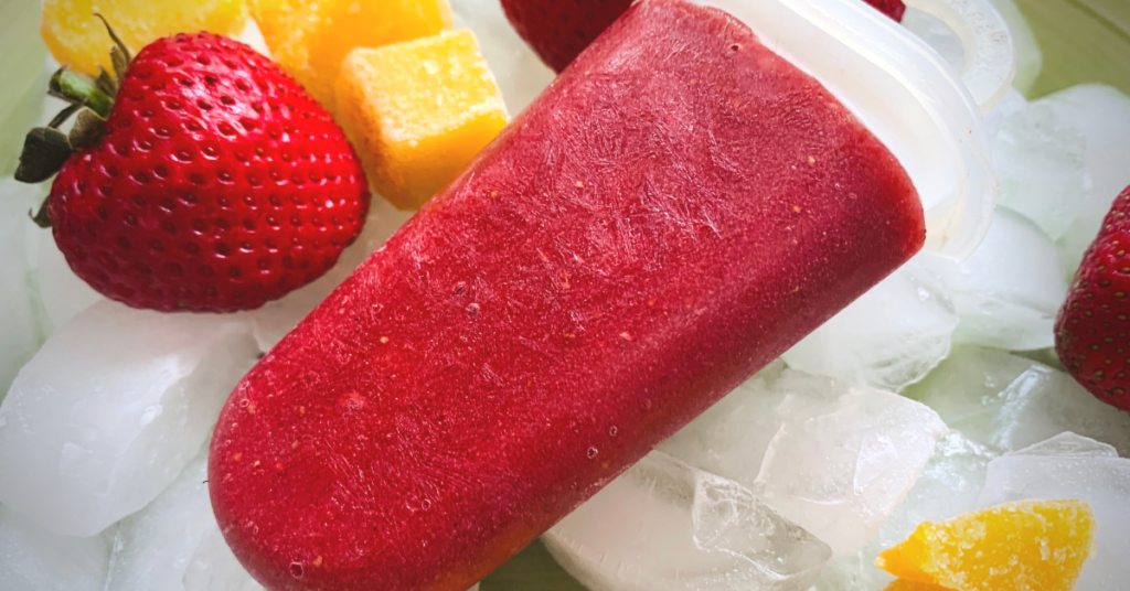 Strawberry Beet Mango Popsicles, Easy and Healthy Popsicle Recipes